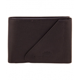 Woodland Scenics Leather Black Casual Regular Wallet