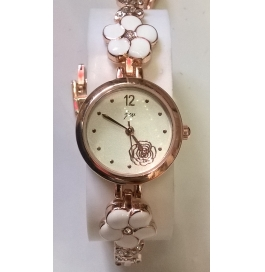 Ladies Wrist Watch Rosegold