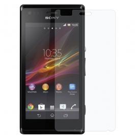 Super Crp Sony Xperia M Screen Guard Clear