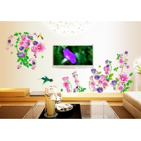 Ay9041 Beautiful Birds On The Tree Nature Wall Sticker  Jaamso Royals