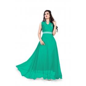 Light Green Plan Gown