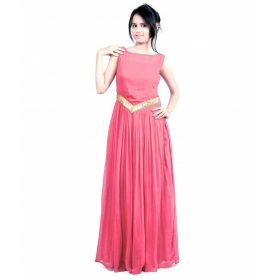 Baby Pink-v Gown