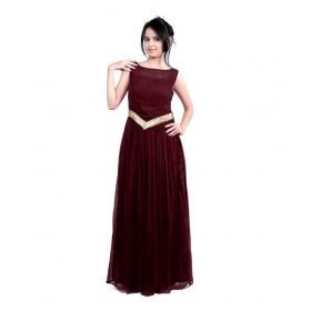 Dark Brown-v Gown