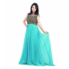 Neutral Choli Gown