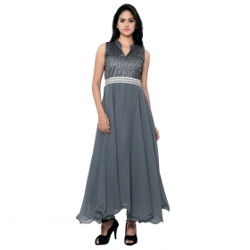 Gray Plan Gown