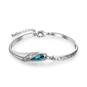 Blue Alloy Bracelet