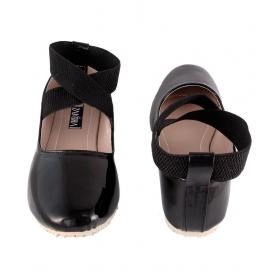 Designer Black Ballerinas