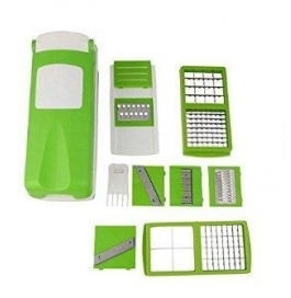 Vinayaka Nicer Dicer Unbreakable (zalak Model) 10 Attachments For Fruits And Vegetables