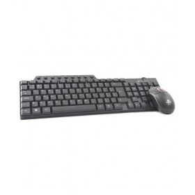 Zebronics Judwa-555 Black Usb Wired Keyboard Mouse Combo Keyboard