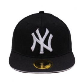 Black Cotton Snapback Hip-hop Cap