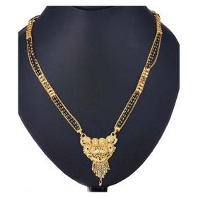 Women's Pride Designer Gold Plated Mangalsutra For Women