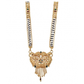Women's Pride Designer Gold Plated Mangalsutra For Women